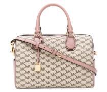 - logo print duffle bag - women - Leder