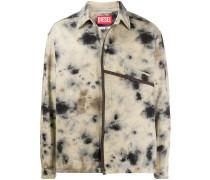 A-COLD-WALL* Hemdjacke mit Flecken-Print