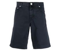 Knielange Slim-Fit-Shorts