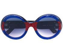 Glitzernde Sonnenbrille - men - Acetat