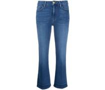 Le Crop Bootcut-Jeans