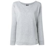- Sweatshirt mit U-Boot-Ausschnitt - women