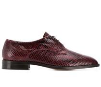 Oxford-Schuhe aus Schlangenleder