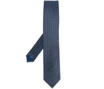 - dotted pattern tie - men - Seide - Einheitsgröße