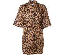 Kimono mit Leoparden-Print