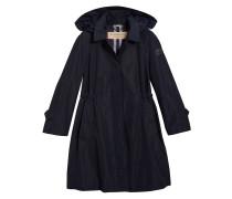 detachable hood showerproof coat