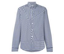 Hemd mit asymmetrischem Streifen - men