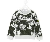 marble print sweatshirt