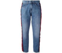 Jeans mit seitlichen Streifen - women