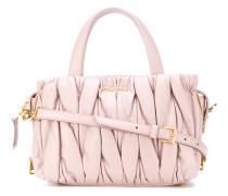 Handtasche mit drapiertem Effekt