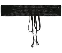 - Gürtel mit Schleife - women - Baumwolle