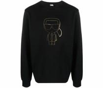 Sweatshirt mit Karl-Motiv