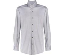 Langärmeliges Pikee-Hemd