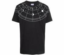 T-Shirt mit Astral-Print