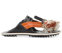 tassel flip-flops