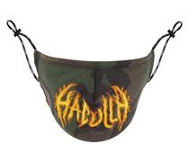 Mundschutz mit Flammen-Logo
