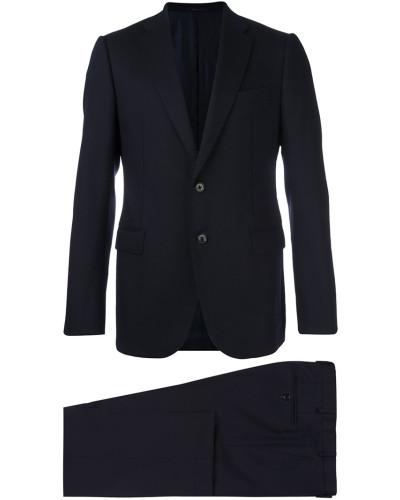 giorgio armani herren anzug mit schmaler passform reduziert. Black Bedroom Furniture Sets. Home Design Ideas
