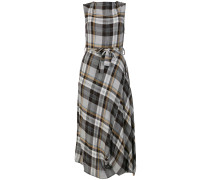 belted tartan dress