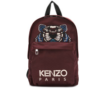 tiger embroidered backpack - Unavailable