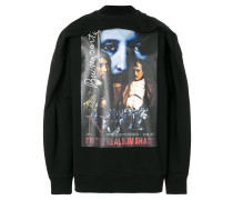 'Real Slim Shady' Sweatshirt mit Raffung