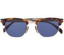 Eckige Halbrand-Sonnenbrille