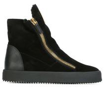 High-Top-Sneakers aus Wildleder - women