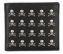 Portemonnaie mit Totenköpfen