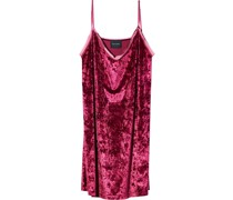 Kleid in Samtoptik