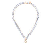 embellished S necklace