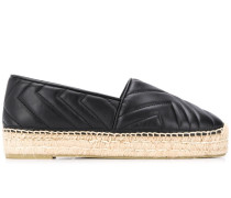 Emme quilted-effect espadrilles