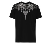 MB ASTRAL WINGS RED SS TEE BLK