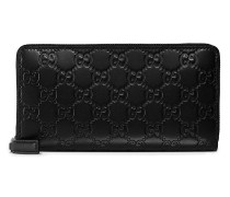 Signature zip around wallet - unisex - Leder