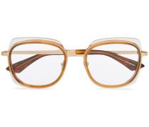 Brille mit Schildpattdetail