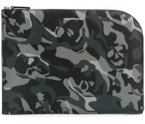 Laptoptasche mit Camouflage-Print