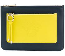 Portemonnaie mit zwei Reißverschlüssen