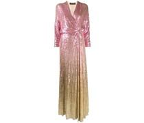 Robe mit Pailletten