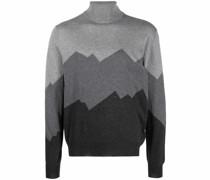 Pullover mit Gebirge-Motiv
