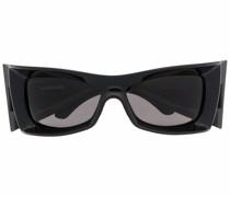 Eckige BB0156S Sonnenbrille