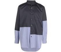 Asymmetrisches Hemd