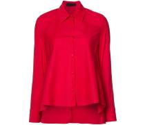 - Hemd mit ausgestelltem Saum - women - Baumwolle