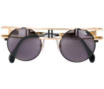 - Runde Sonnenbrille mit Logo - unisex
