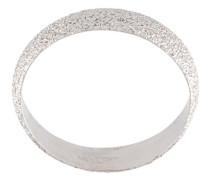 Florentine finish flat sparkly ring