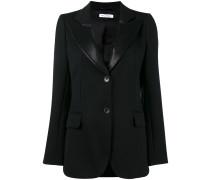 isaacs wool-blend blazer