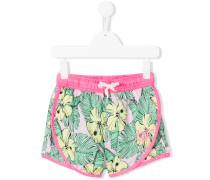 Shorts mit Print - kids - Polyester - 10 J.