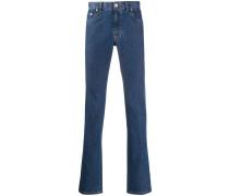 Jeans mit Monogramm
