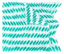 Schal mit ovalen Punkten