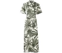 P.A.R.O.S.H. Kleid mit Palmen-Print