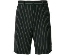 pinstriped shorts