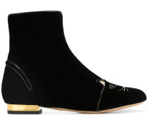 'Puss in Boots' Ankle-Boots - women