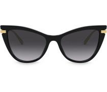 Zweifarbige Cat-Eye-Brille